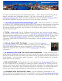 The Top 10 Reasons to Study Intellectual Property Law at BU Law (email)